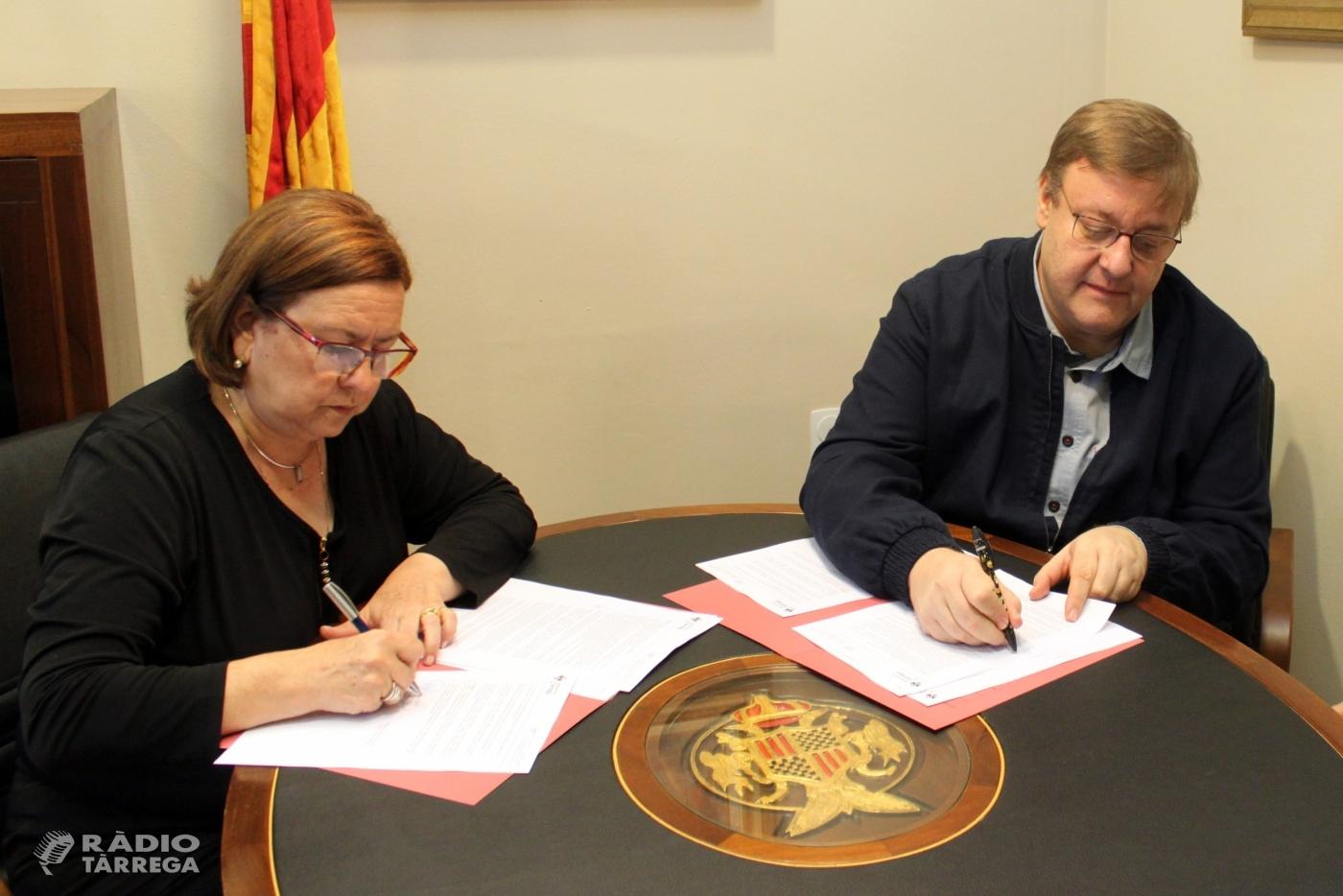 L'Ajuntament de Tàrrega renova la cessió de l'edifici de titularitat municipal que acull l'Escola Pia