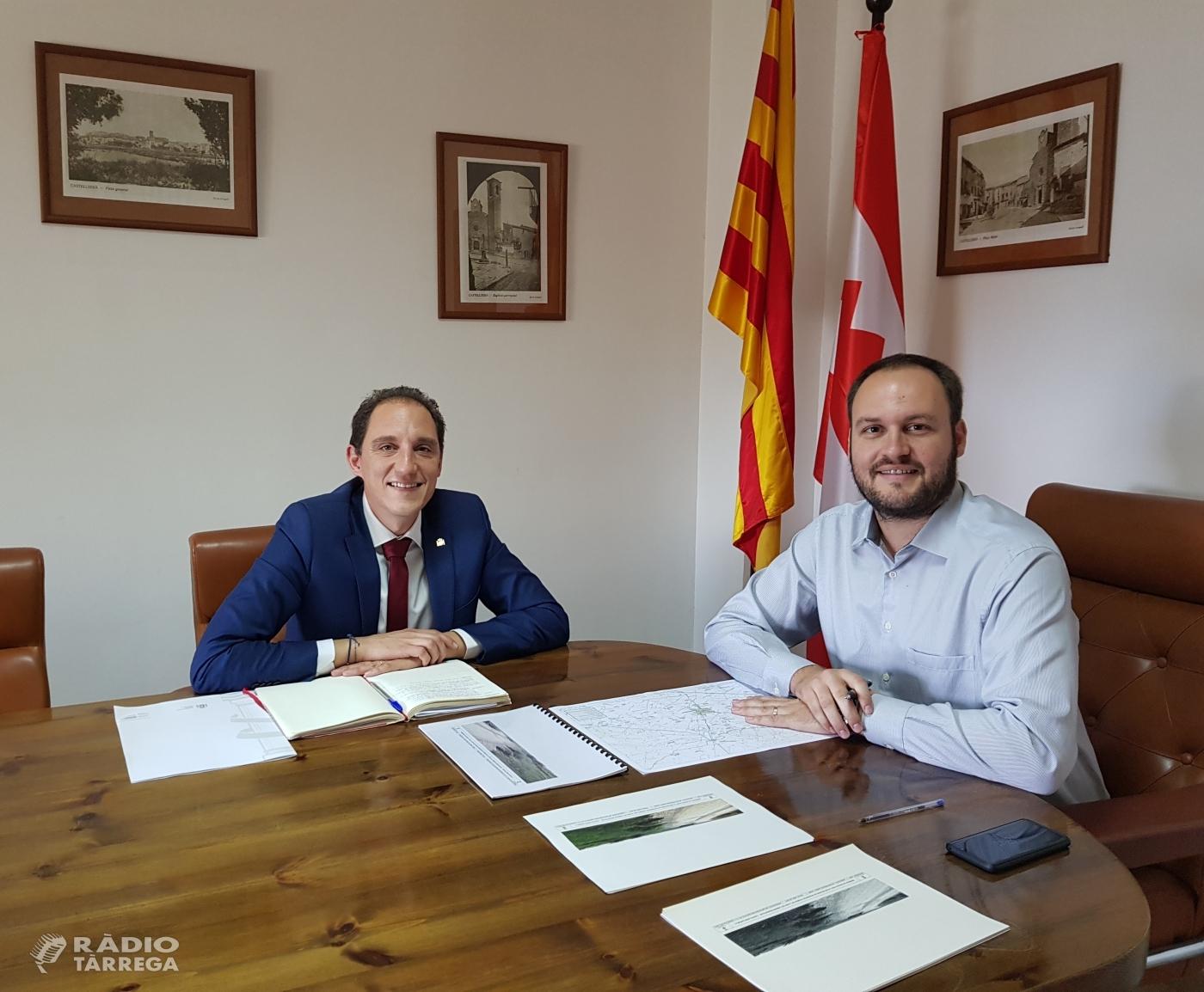 El subdelegat del Govern es reuneix amb l'alcalde de Castellserà
