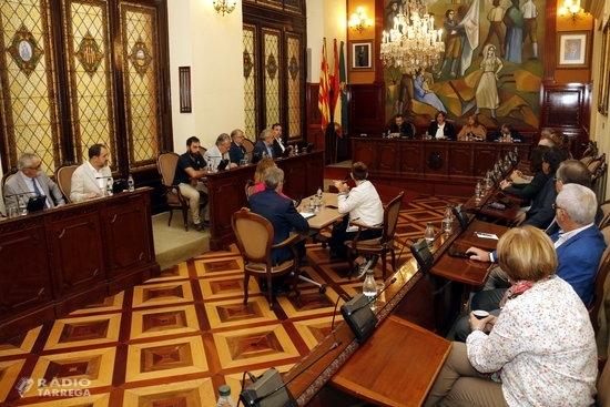 Reñé fa oficial la seva renúncia al Ple de la Diputació de Lleida