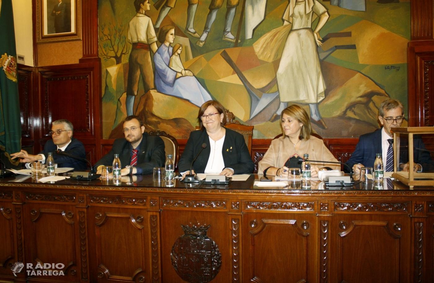 L'alcaldessa de Tàrrega, Rosa Maria Perelló, és nomenada Presidenta de la Diputació de Lleida