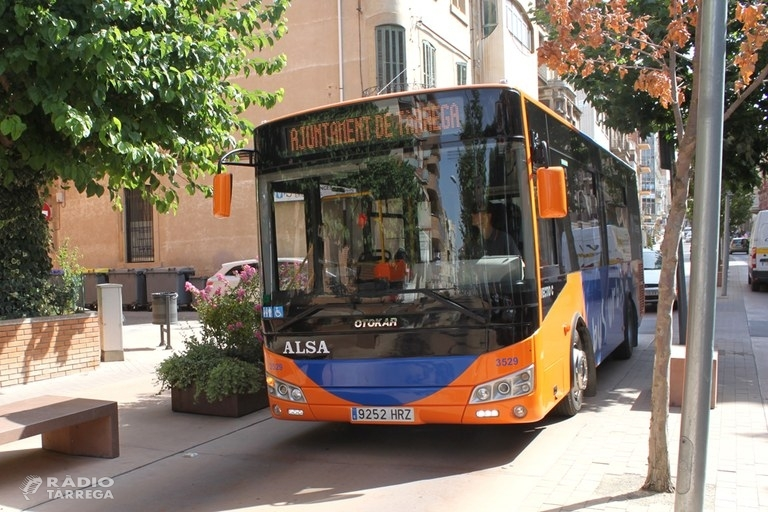 L'Ajuntament de Tàrrega habilita per Tots Sants un servei extraordinari i gratuït del bus urbà municipal per facilitar els desplaçaments al cementiri