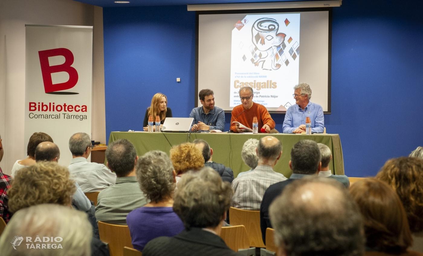La Regidoria de Cultura de Tàrrega edita un llibre de poemes de l'autor local Josep Maria Targa