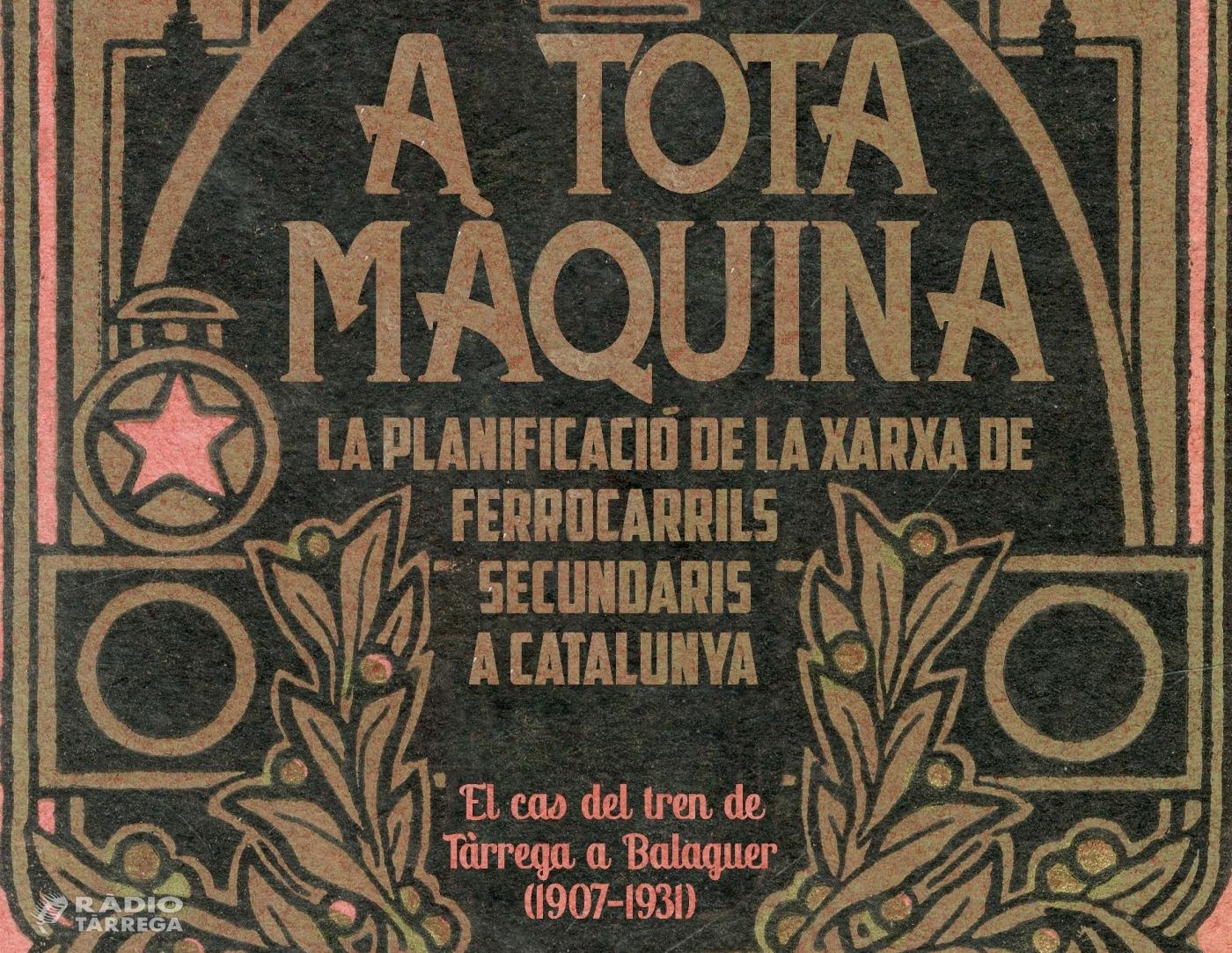 Exposició 'A TOTA MÀQUINA!' a l'Arxiu Comarcal de l'Urgell
