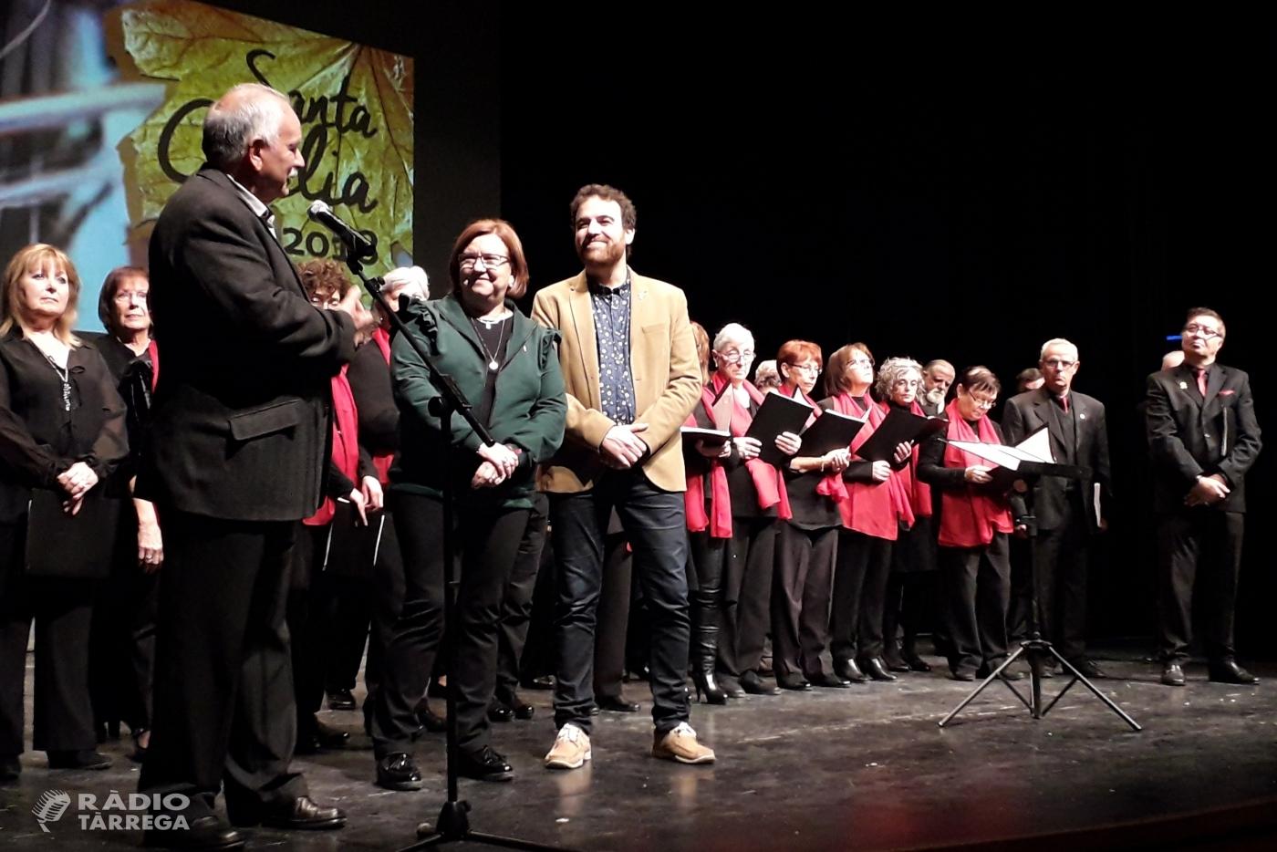 Èxit del concert de Santa Cecília a Tàrrega en favor del Magatzem d'Aliments Solidaris