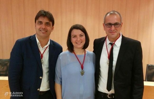 Els tres actuals regidors d'ERC-MES a l'Ajuntament de Tàrrega anuncien que no optaran a encapçalar el projecte republicà a les eleccions municipals del 2019