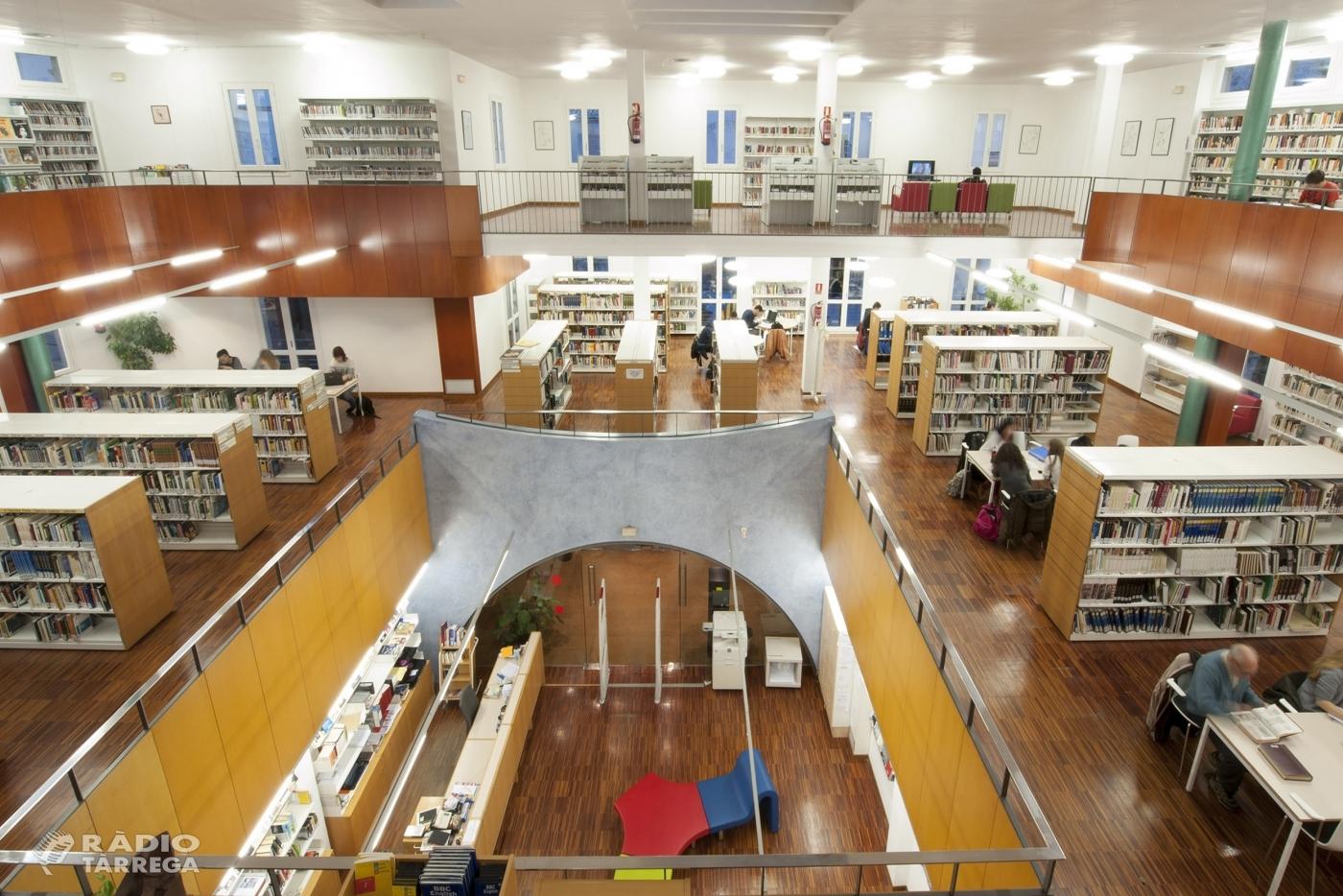 La Biblioteca Comarcal de Tàrrega commemora el seu 24è aniversari amb la participació de l'escriptor Jordi Coca, la psicòloga Núria Beitia i el músic Lluís Fortuny