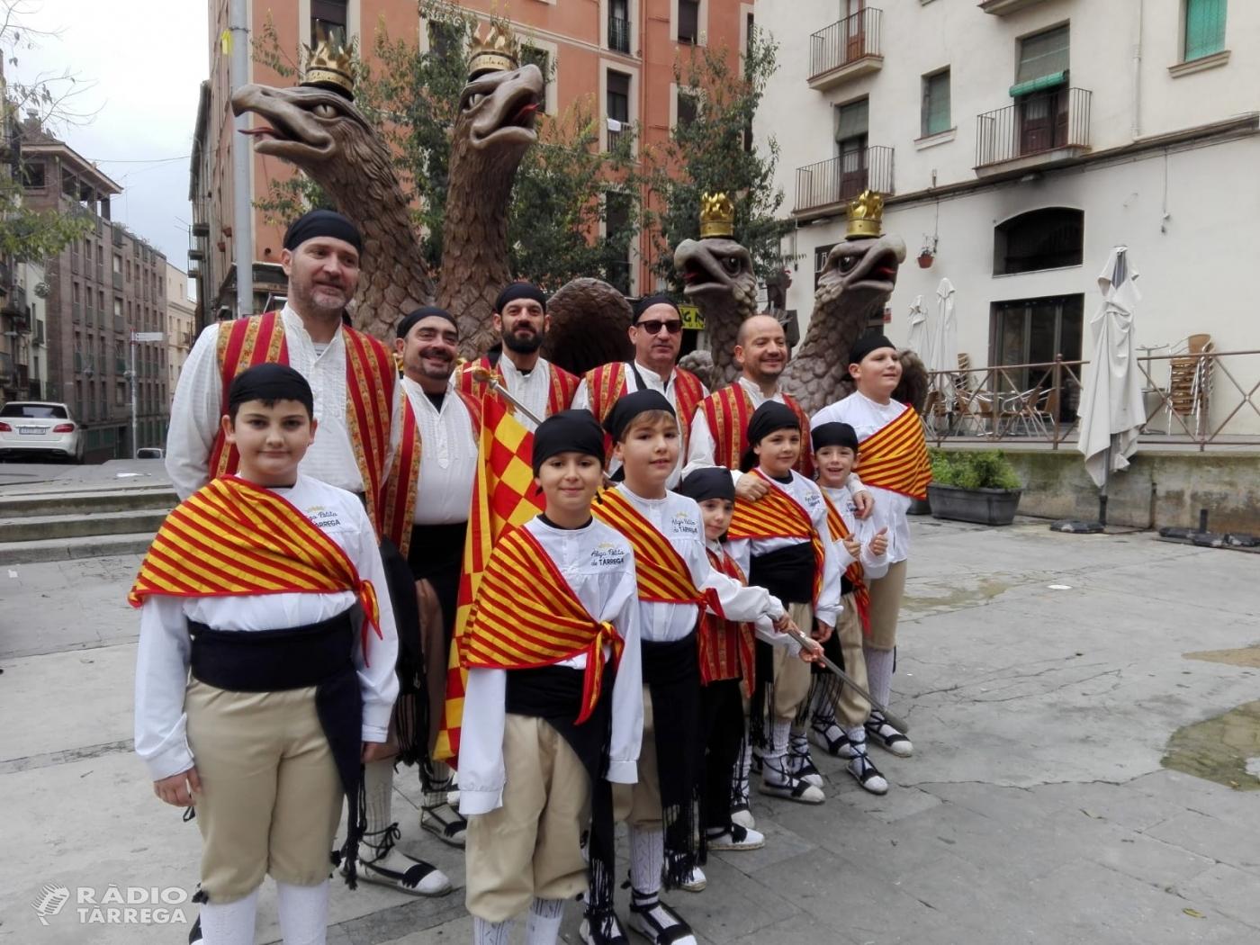 L'Àliga i l'Àliga petita de Tàrrega presents al Festivitas Bestiarium a Manresa
