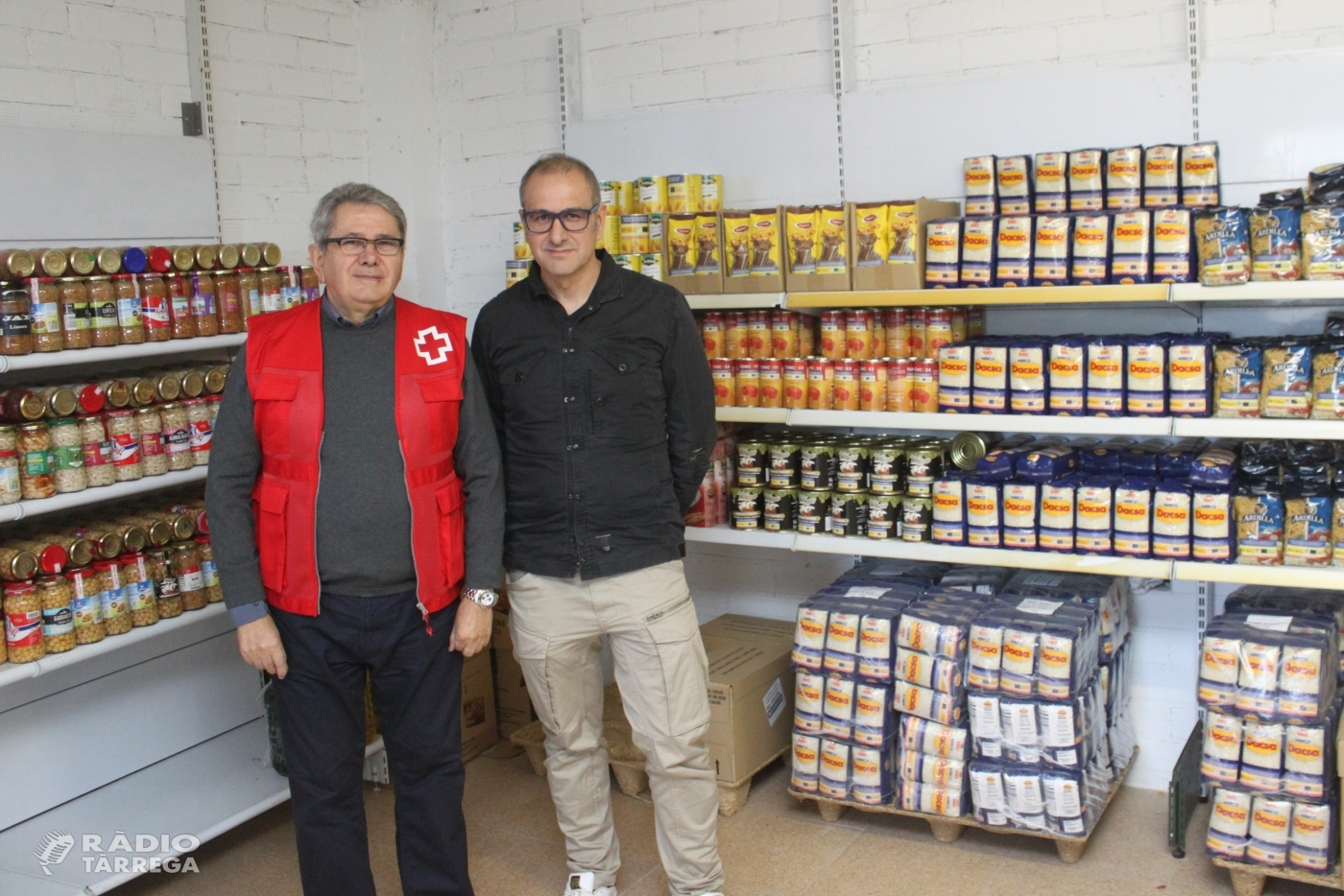 Tàrrega se suma a la iniciativa solidària del Gran Recapte d'Aliments els dies 30 de novembre i 1 de desembre