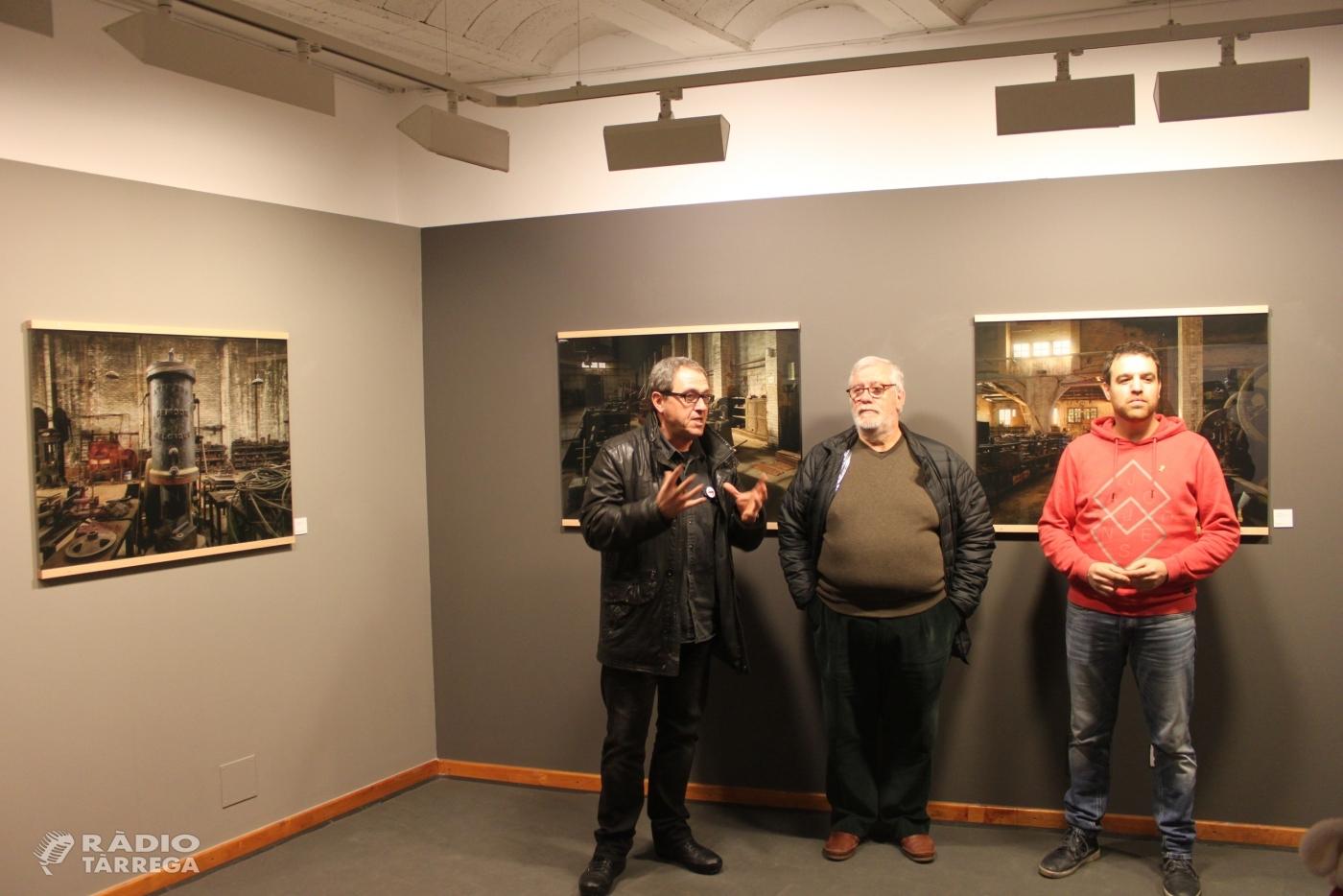 El lleidatà Llorenç Melgosa exposa a Tàrrega la seva sèrie de fotografies dedicades a espais industrials abandonats