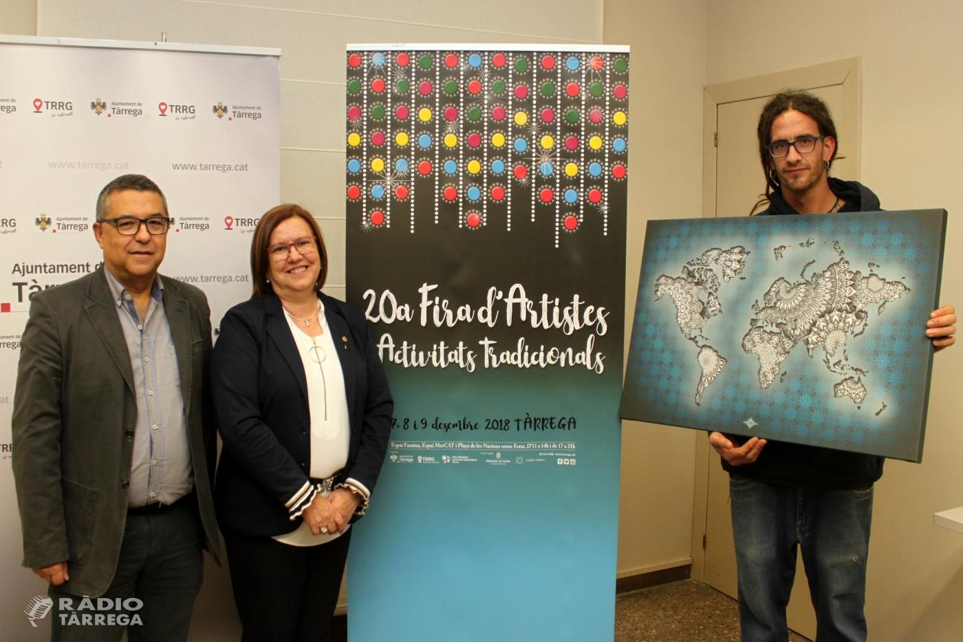 Tàrrega celebrarà del 7 al 9 de desembre el 20è aniversari de la Fira d'Artistes i Activitats Tradicionals
