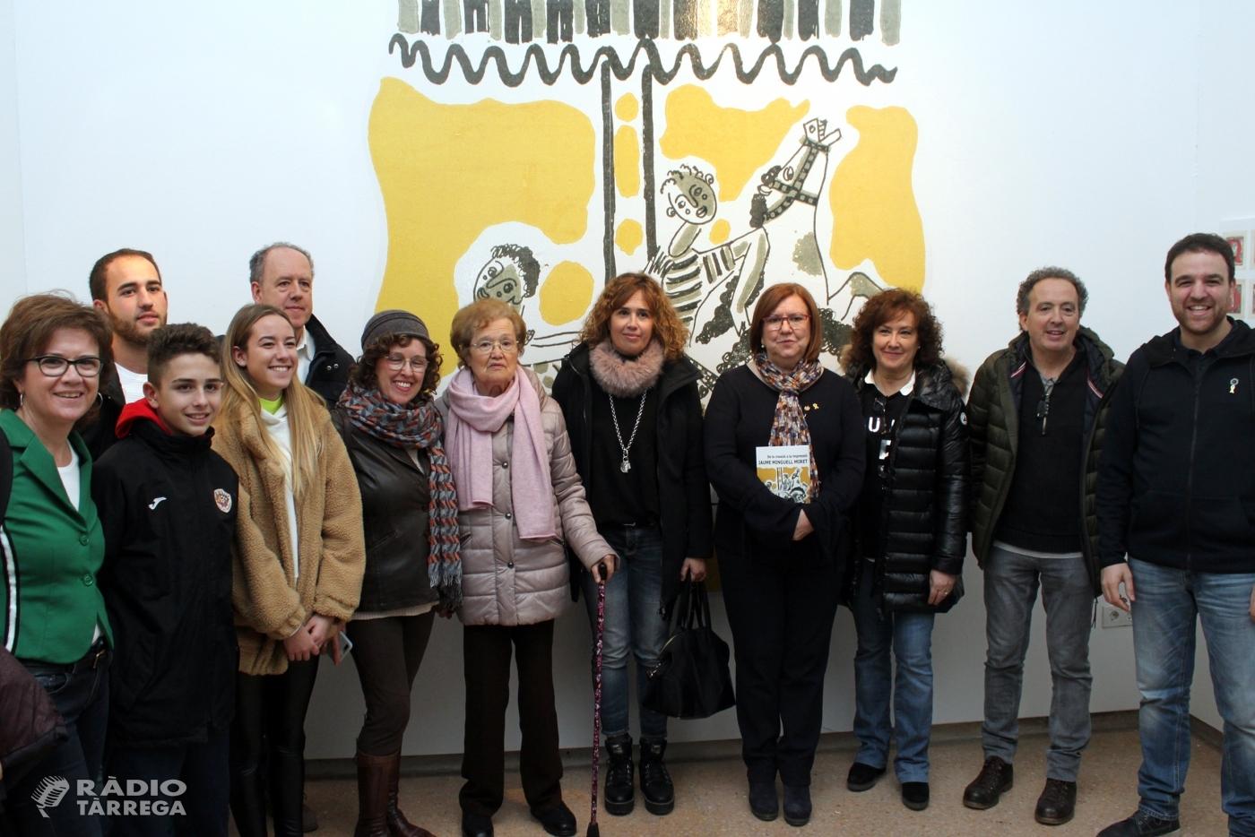 La Sala Marsà de Tàrrega acull fins al 6 de gener una exposició sobre el vessant com a il·lustrador de l'artista Jaume Minguell