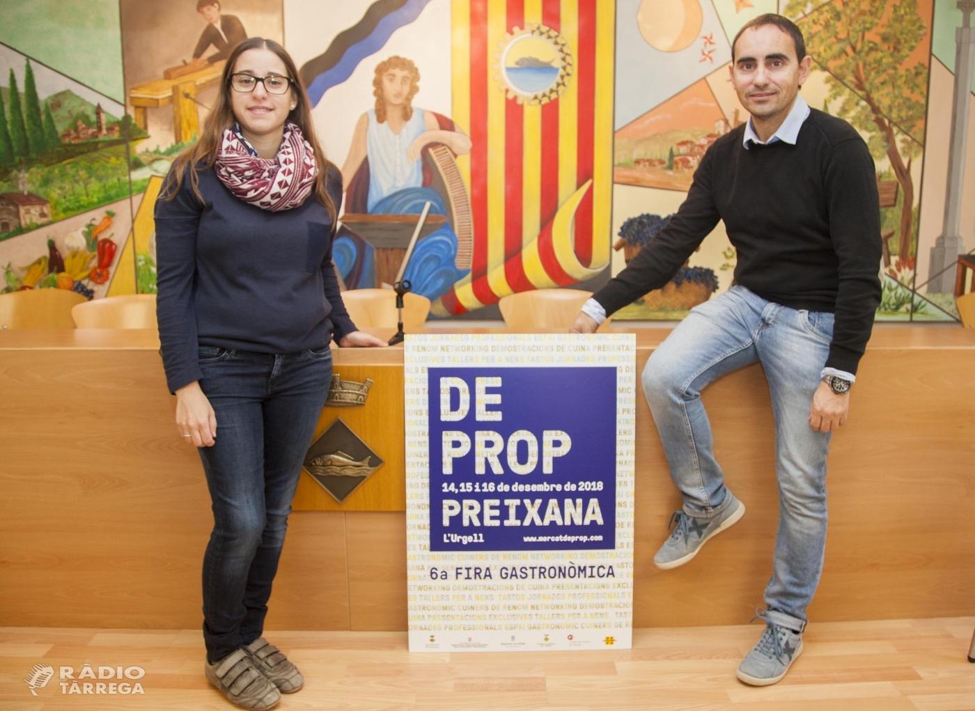 Preixana aposta per la formació dels productors de proximitat en la 6a fira gastronòmica De Prop