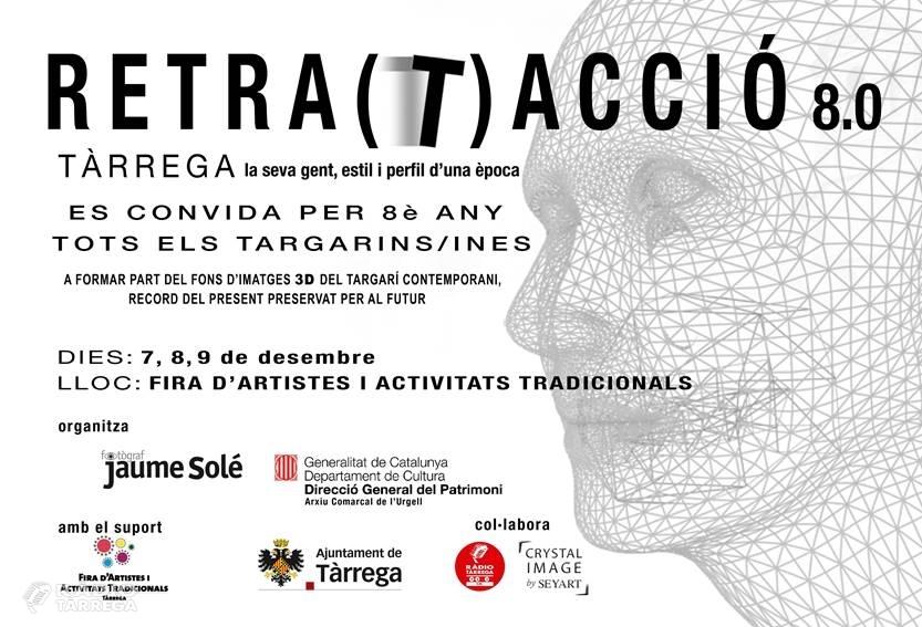 El fotògraf Jaume Solé continua documentant als targarins en 3D a la Fira d'Artistes i Activitats Tradicionals