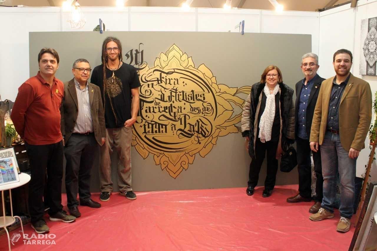 Tàrrega obre amb èxit la 20a Fira d'Artistes i Activitats Tradicionals, que es desenvoluparà fins diumenge amb un centenar d'expositors