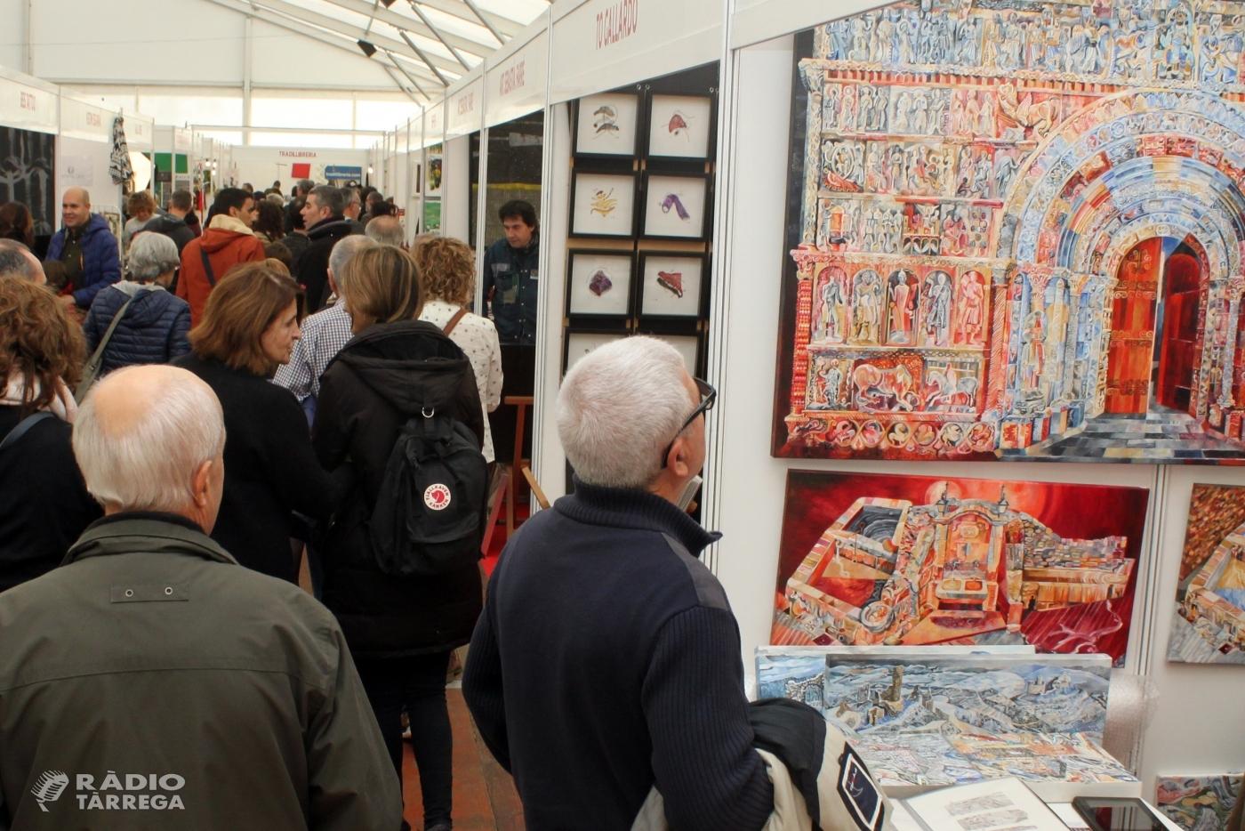Bona afluència de visitants a la segona jornada de la 20a Fira d'Artistes i Activitats Tradicionals de Tàrrega