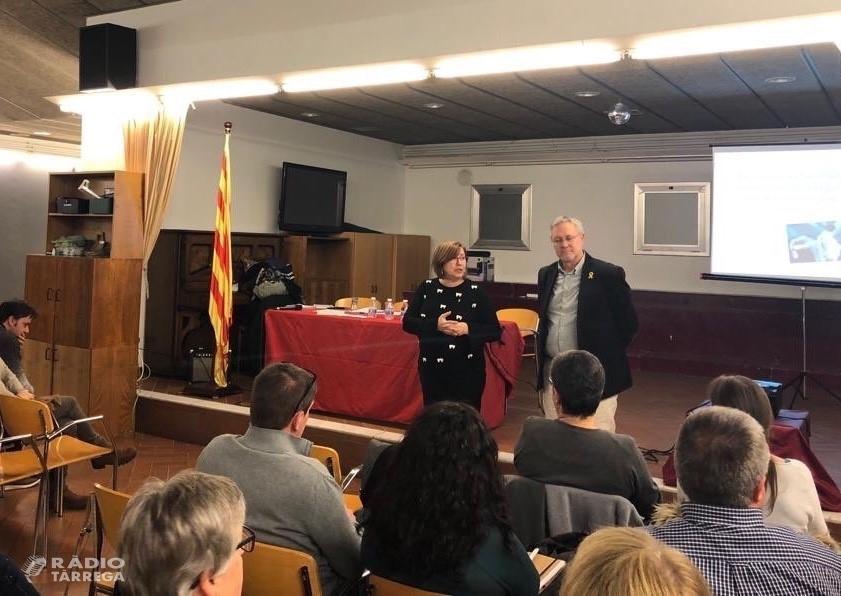 Es presenta a Tàrrega el Pla d'acció sectorial del sector dels serveis a la gent gran de la comarca de l'Urgell
