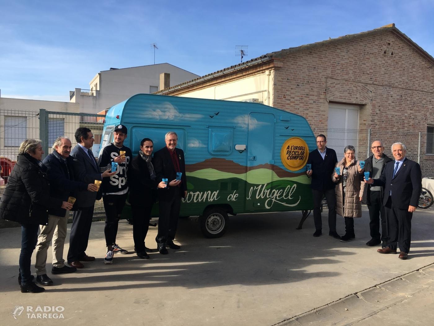 Neix l'Ecocaravana, un servei del Consell Comarcal de l'Urgell pioner a Catalunya, per a l'ambientalització de festes