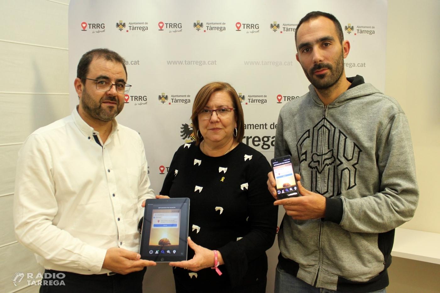 El tanatori de Tàrrega posa en marxa una aplicació mòbil per informar la ciutadania de forma telemàtica sobre les defuncions produïdes al municipi