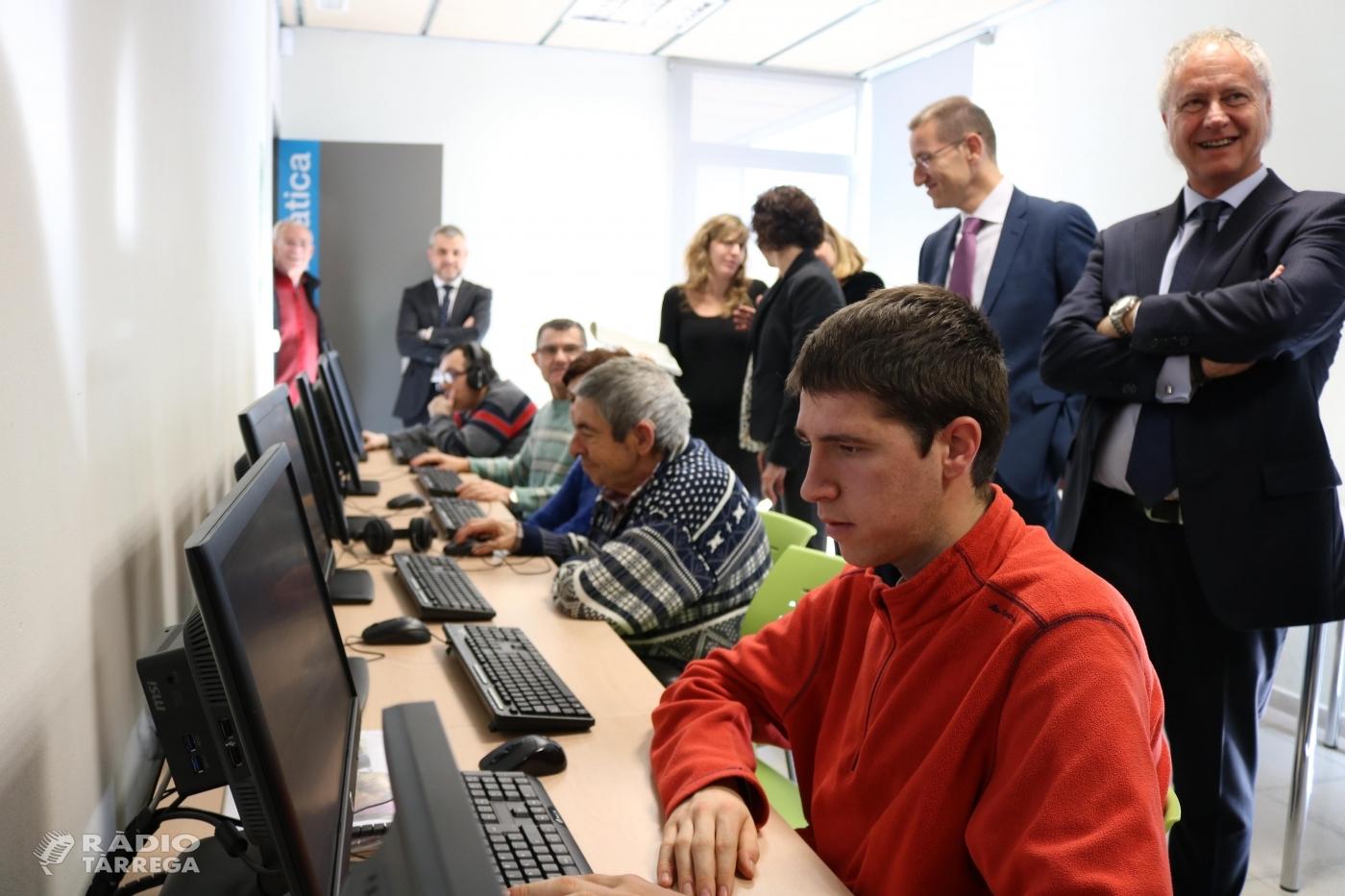 El Grup Alba inaugura nous equipaments informàtics gràcies al projecte de crowdfunding 'Connectats al món' impulsat conjuntament amb CaixaBank