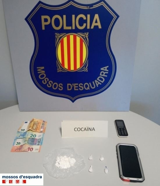 A presó un veí de Tàrrega que venia cocaïna a petits distribuïdors de la zona