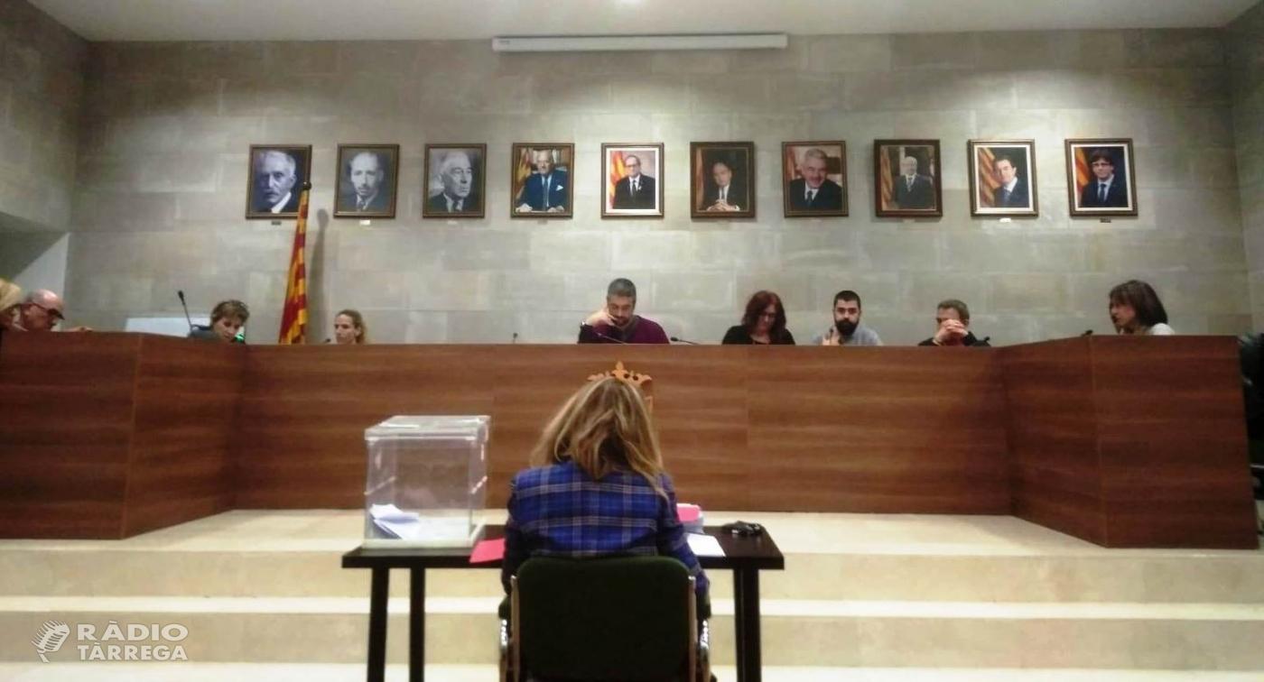 Agramunt aprova una moció per demanar que el decret de menjadors inclogui les AMPA