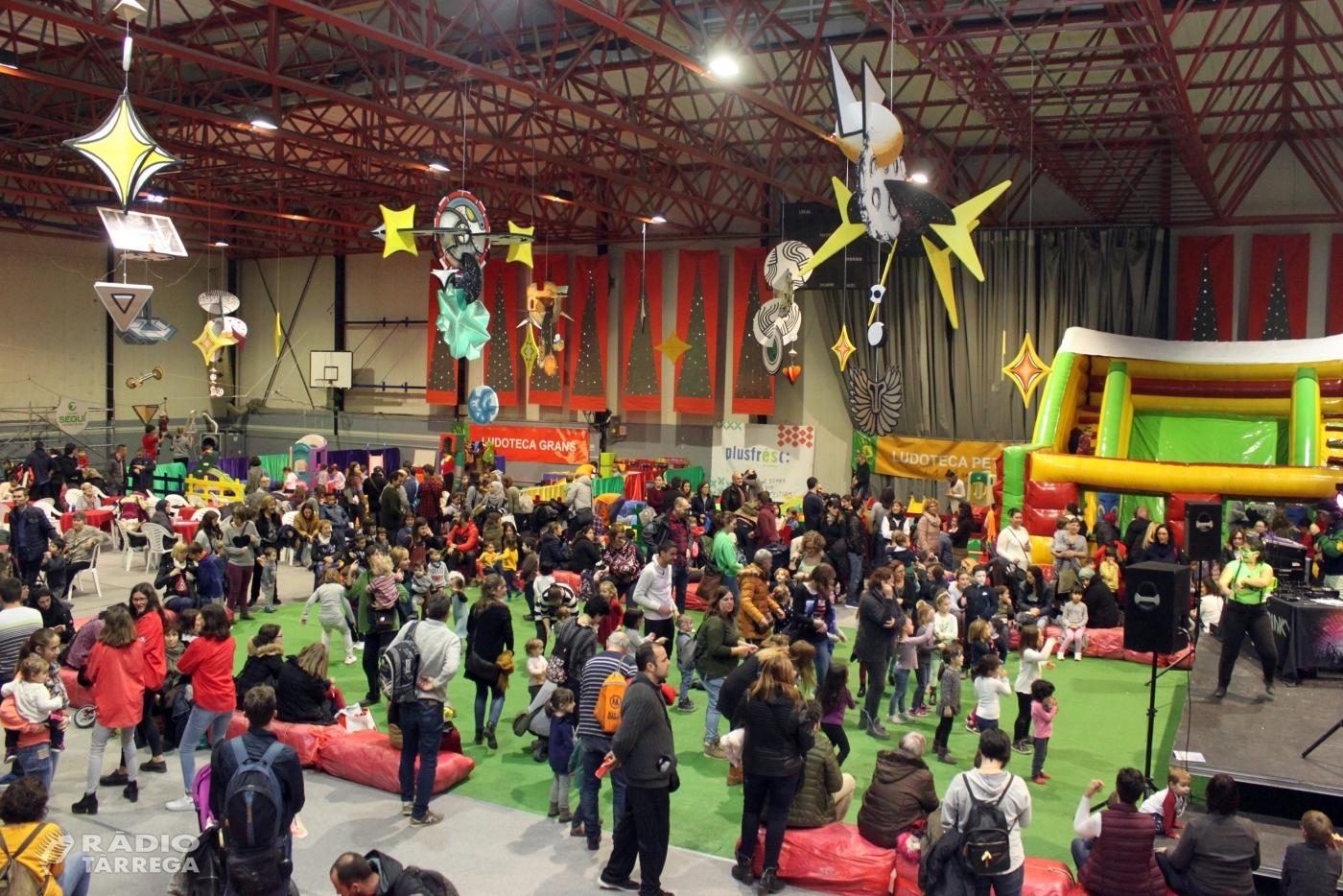 Gran èxit del 33è Parc de Nadal de Tàrrega, que congrega 11.500 visitants