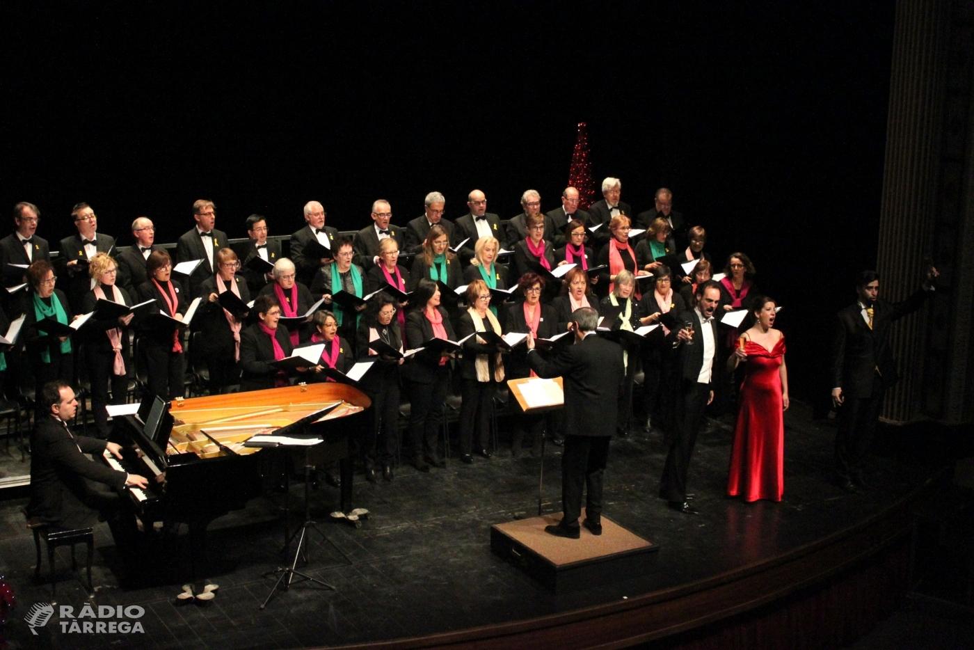 Gran èxit del Concert de Reis de Tàrrega, que omple el Teatre Ateneu amb populars fragments d'òpera, sarsuela i musicals