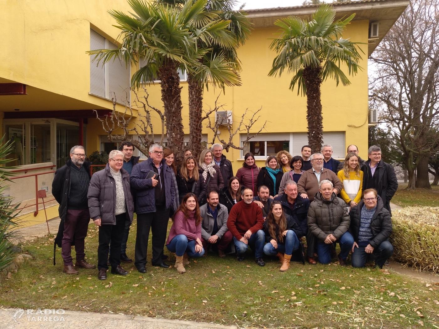 Reunió dels membres del conveni vinya del sistema Segarra-Garrigues a Tàrrega