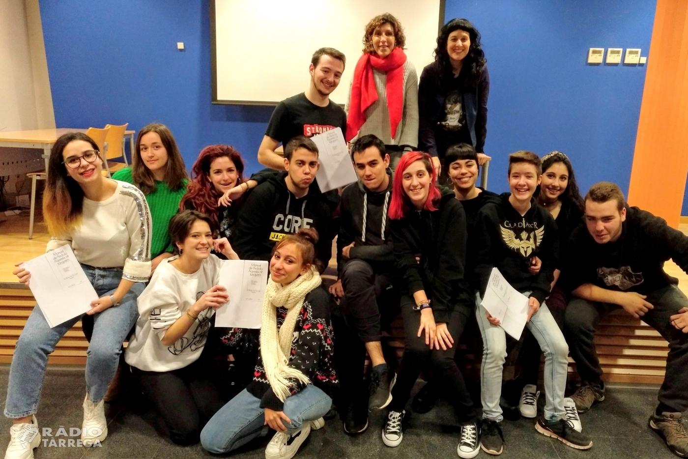 La Regidoria de Cultura de Tàrrega ofereix un cicle de lectures dramatitzades de textos teatrals de Manuel de Pedrolo a càrrec de joves de secundària
