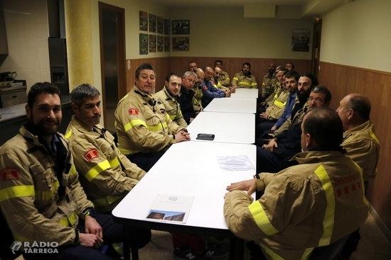 Els Bombers voluntaris de Lleida amenacen amb tancar parcs a partir del 31 de gener per falta de personal