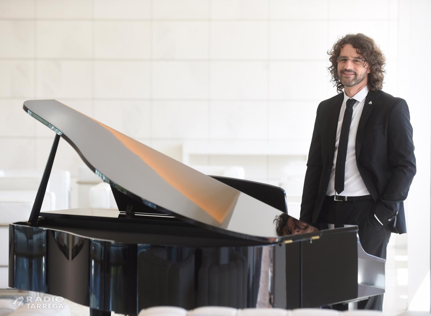 El Centre Cultural de Tàrrega commemora els seus 50 anys amb un concert del pianista lleidatà Antoni Tolmos el dissabte 26 de gener