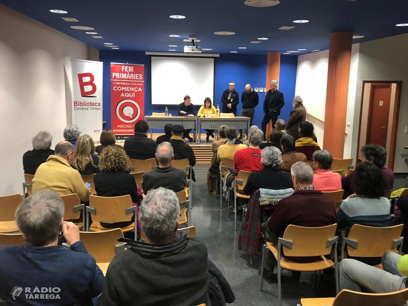 Es presenta a Tàrrega 'Primàries Catalunya'