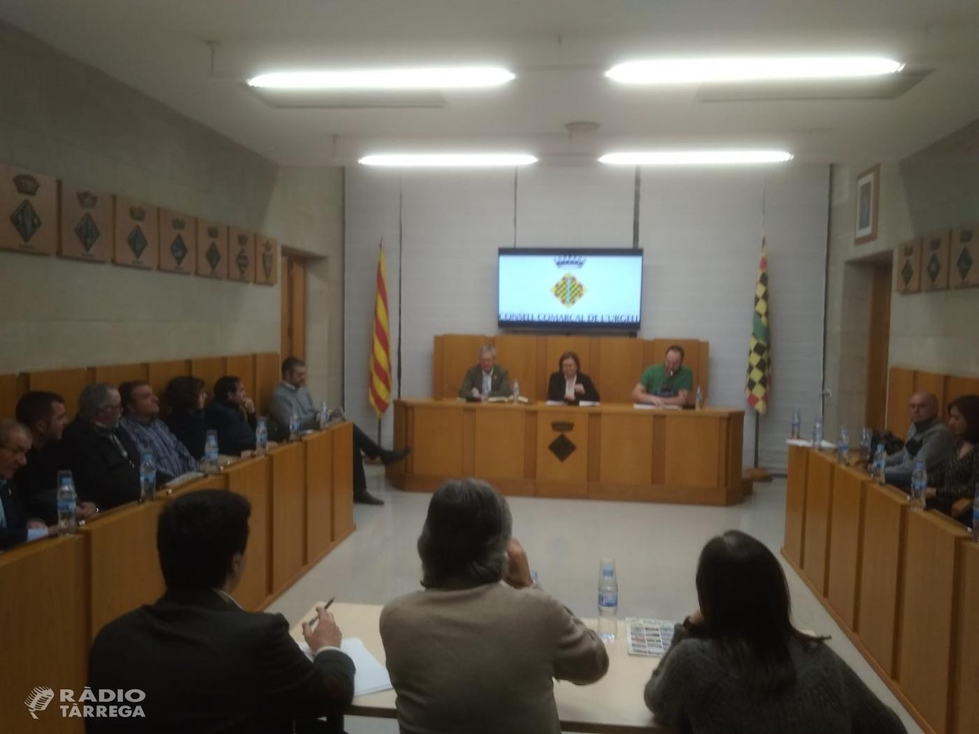 El pressupost del 2019 del Consell Comarcal de l'Urgell augmenta la partida destinada a Serveis Socials