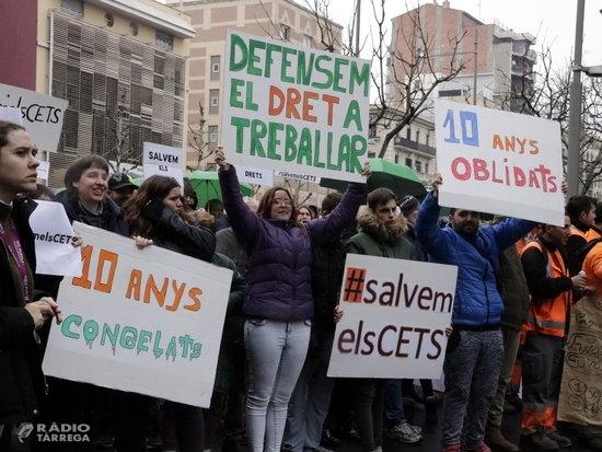 Un miler de manifestants clamen pels drets de les persones amb d'altres capacitats a Lleida