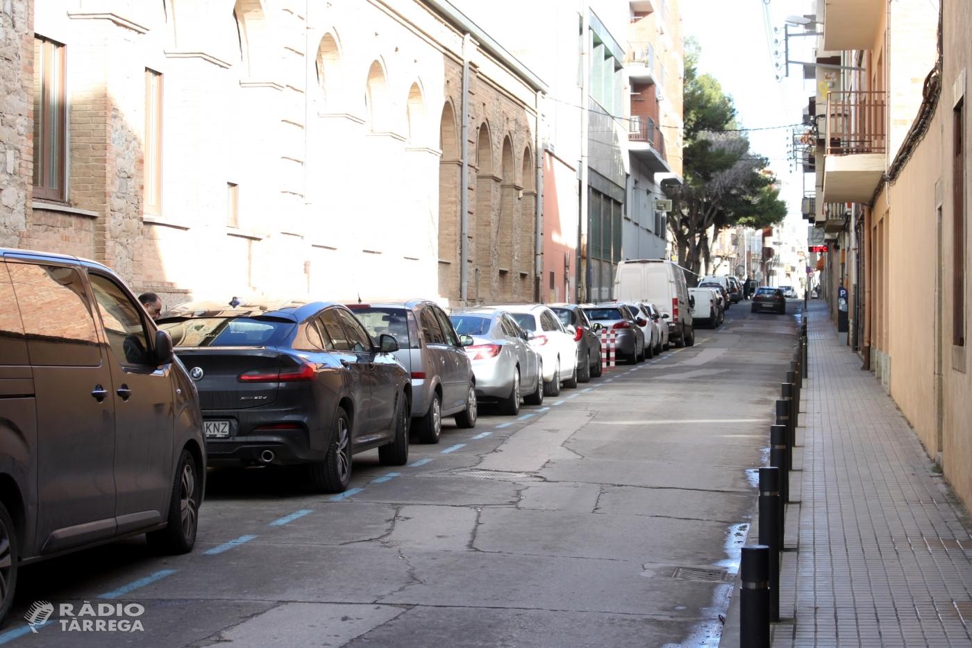 L'Ajuntament de Tàrrega aprova el projecte de renovació del carrer de Jacint Verdaguer, que es transformarà en un vial de plataforma única