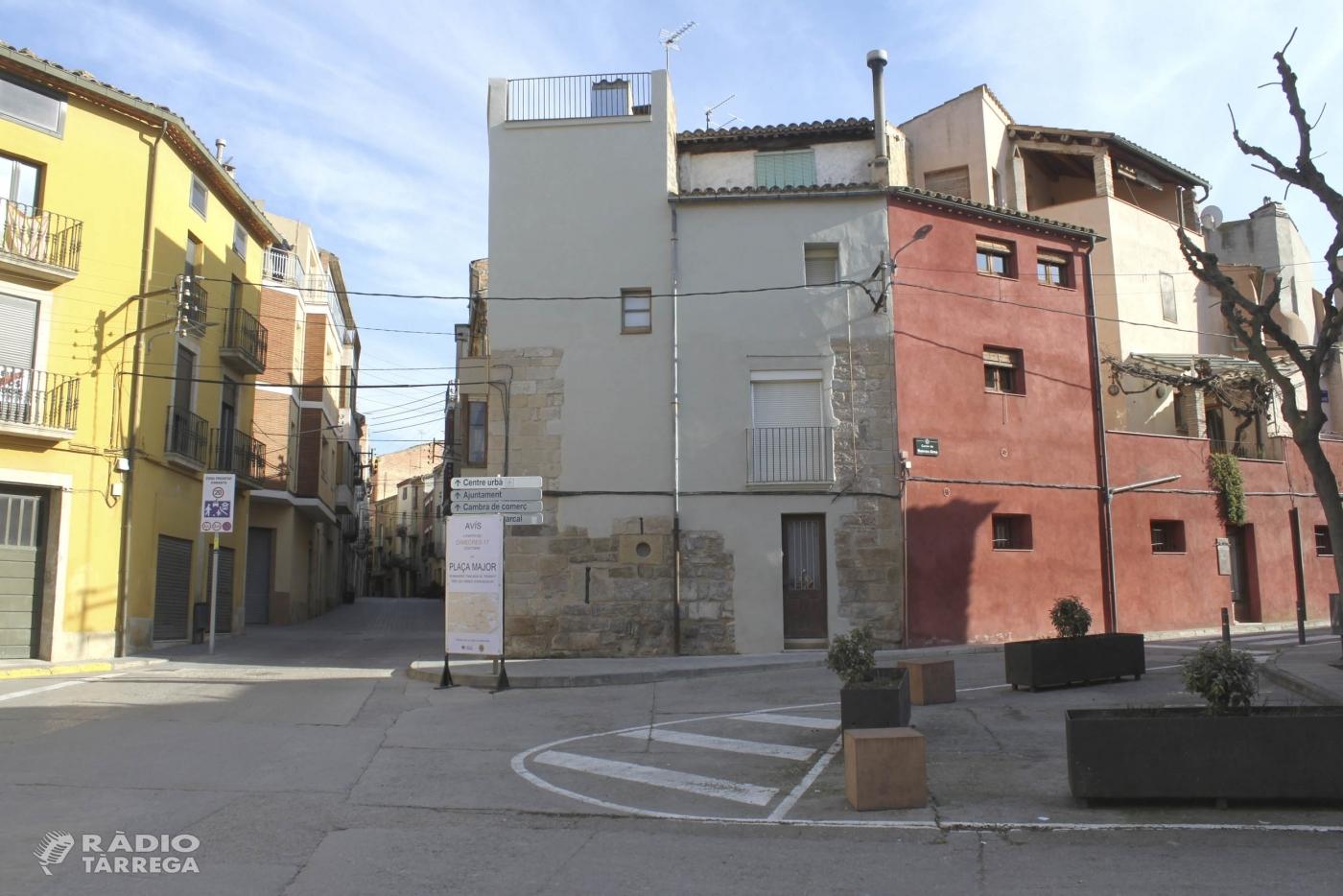 L'Ajuntament de Tàrrega aprova el projecte de renovació de la plaça d'Urgell, un dels principals accessos al centre històric