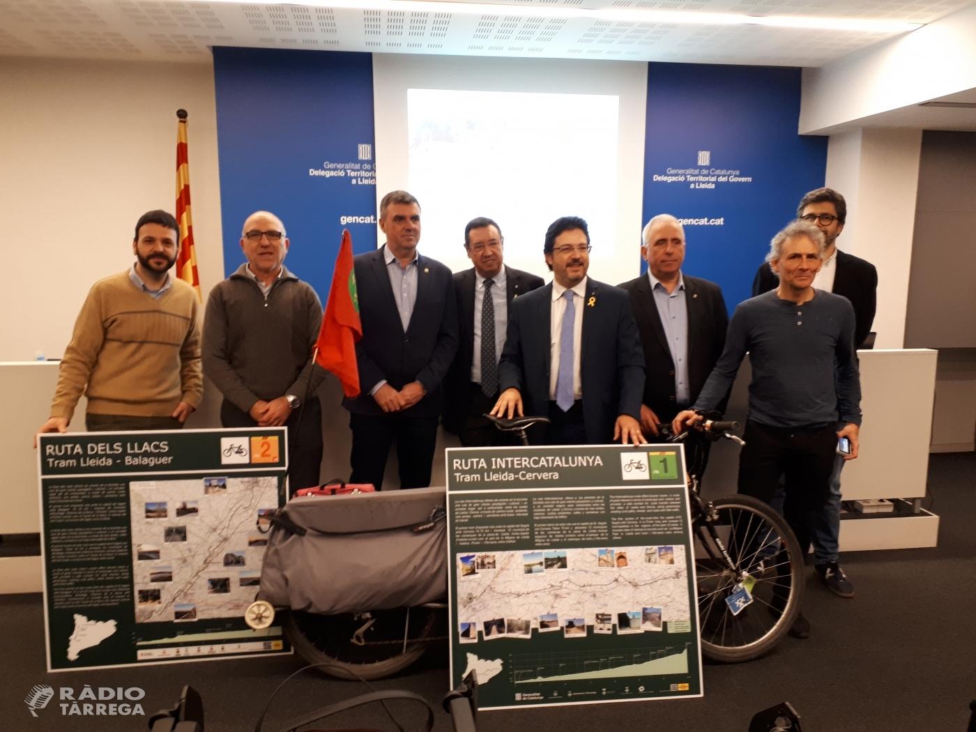 Està ja en funcionament el primer tram de la Via InterCataunya (Lleida-Girona), entre Lleida i Cervera