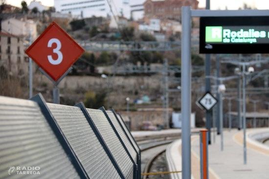 Les Cambres de Comerç catalanes demanen inversions urgents a la línia ferroviària entre Lleida i Barcelona