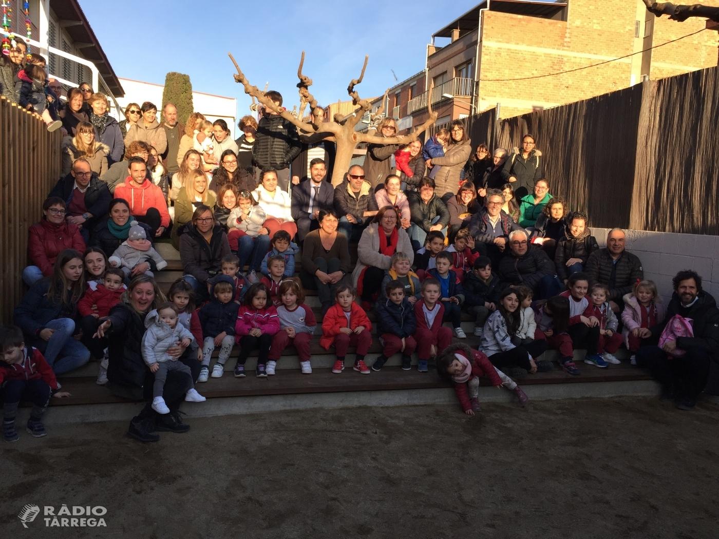 L'escola Vedruna de Tàrrega inaugura el seu nou pati d'Educació Infantil