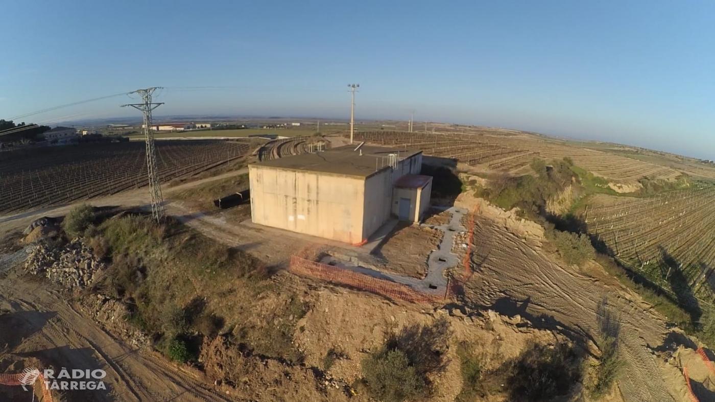 El Consell Comarcal de la Segarra destina un pressupost de més de 100 mil euros per a l'obra de la nova estació de tractament d'aigua potable a Verdú