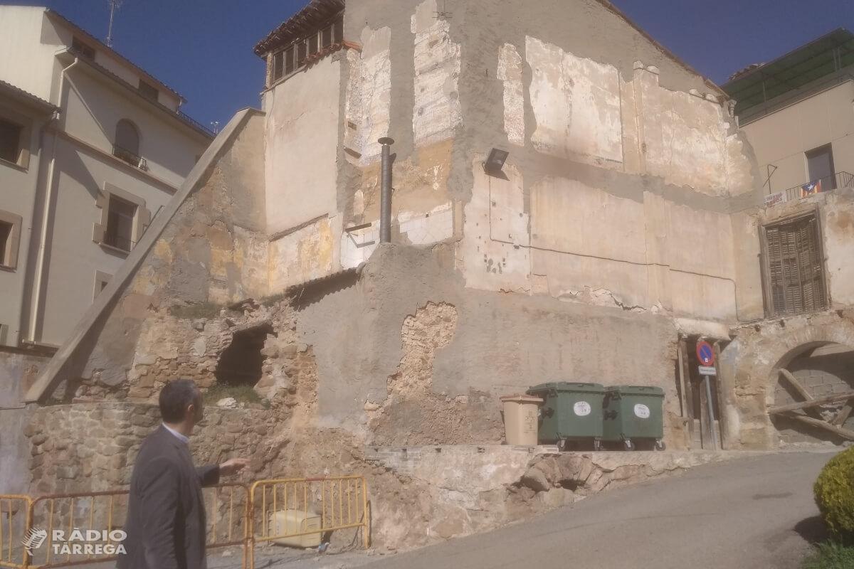 L'Ajuntament d'Agramunt enderrocarà tres cases del centre històric