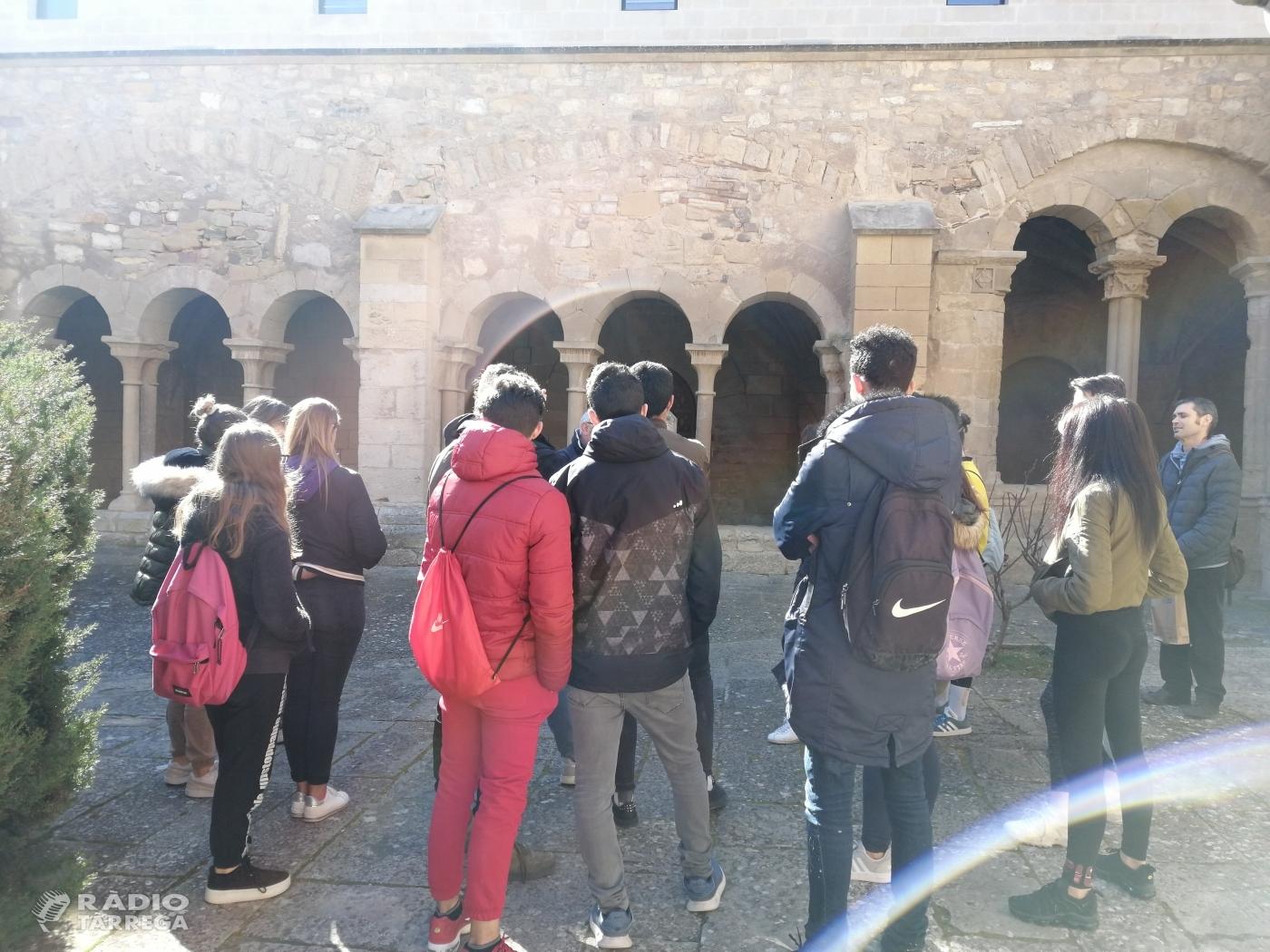 Visites dels centres escolars a Vallbona de les Monges