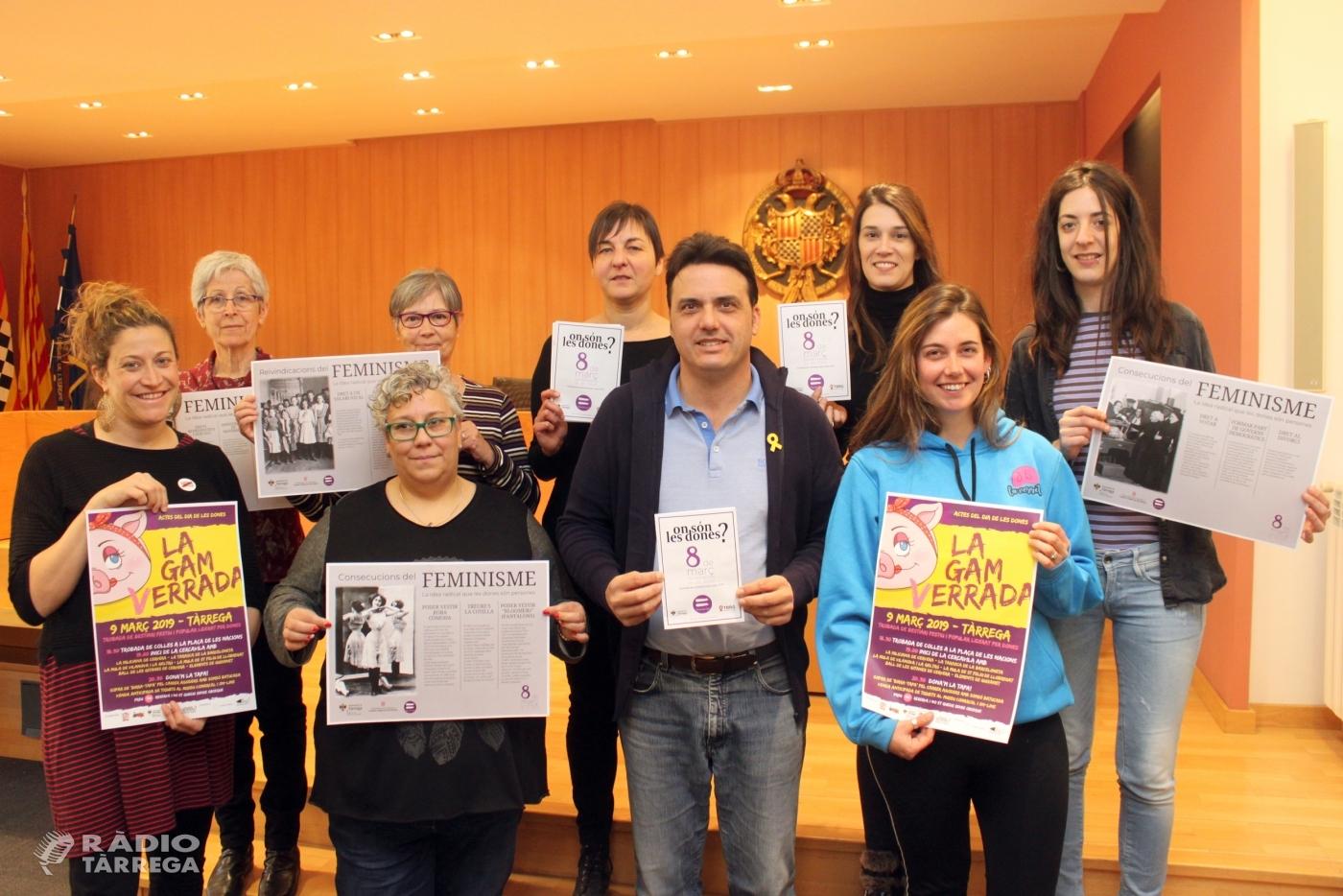 Tàrrega commemora el Dia Internacional de les Dones amb un ampli programa d'actes del 7 al 21 de març per sensibilitzar en favor de la igualtat de gènere