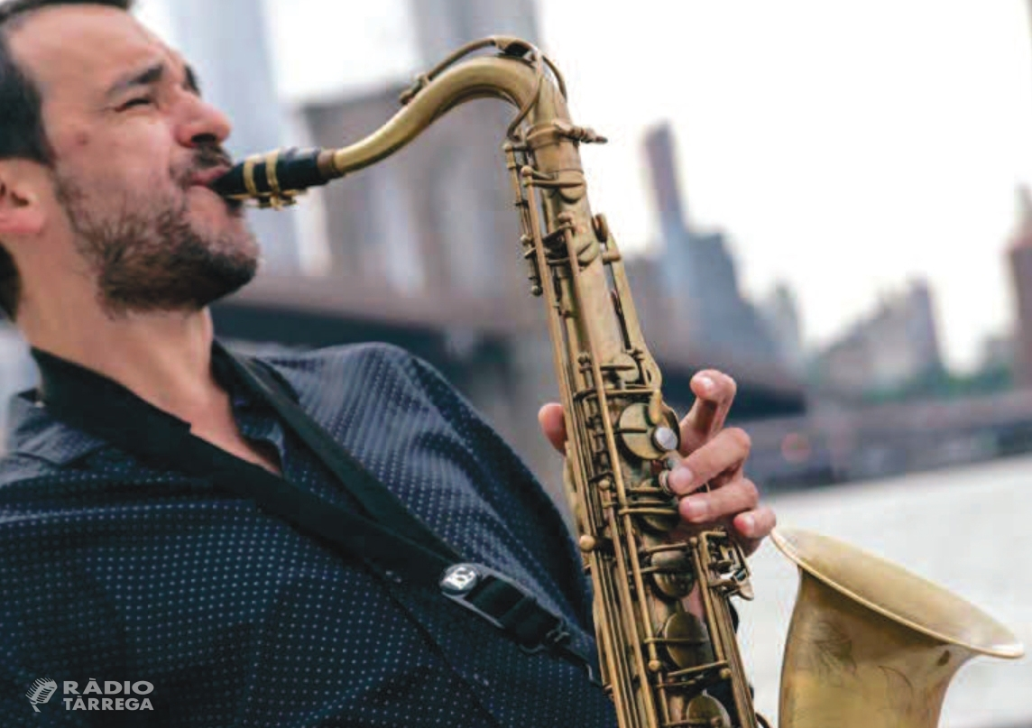 El jazz del lleidatà Jaume Sanchis, protagonista del cicle Tàrrega Sona 2019 el divendres 8 de març