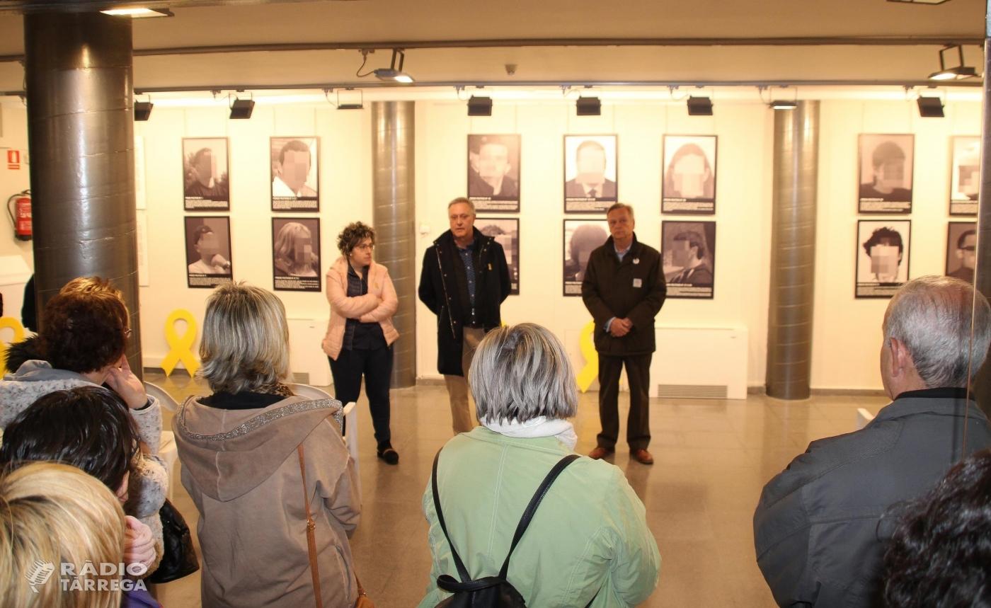 """La Casa de Cultura de Bellpuig acull l'exposició """"Presos Polítics a l'Espanya contemporània"""" de Santiago Sierra"""