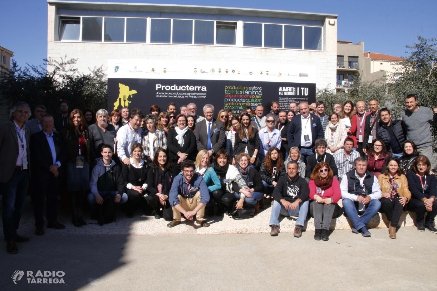 El Patronat de Promoció Econòmica de la Diputació de Lleida organitza la Jornada Producterra de Bellpuig