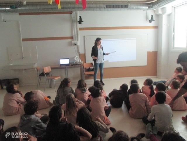 """L'escola Maria Mercè Marçal porta a terme un projecte titulat """"Els invents""""  que parteix dels interessos dels propis infants"""