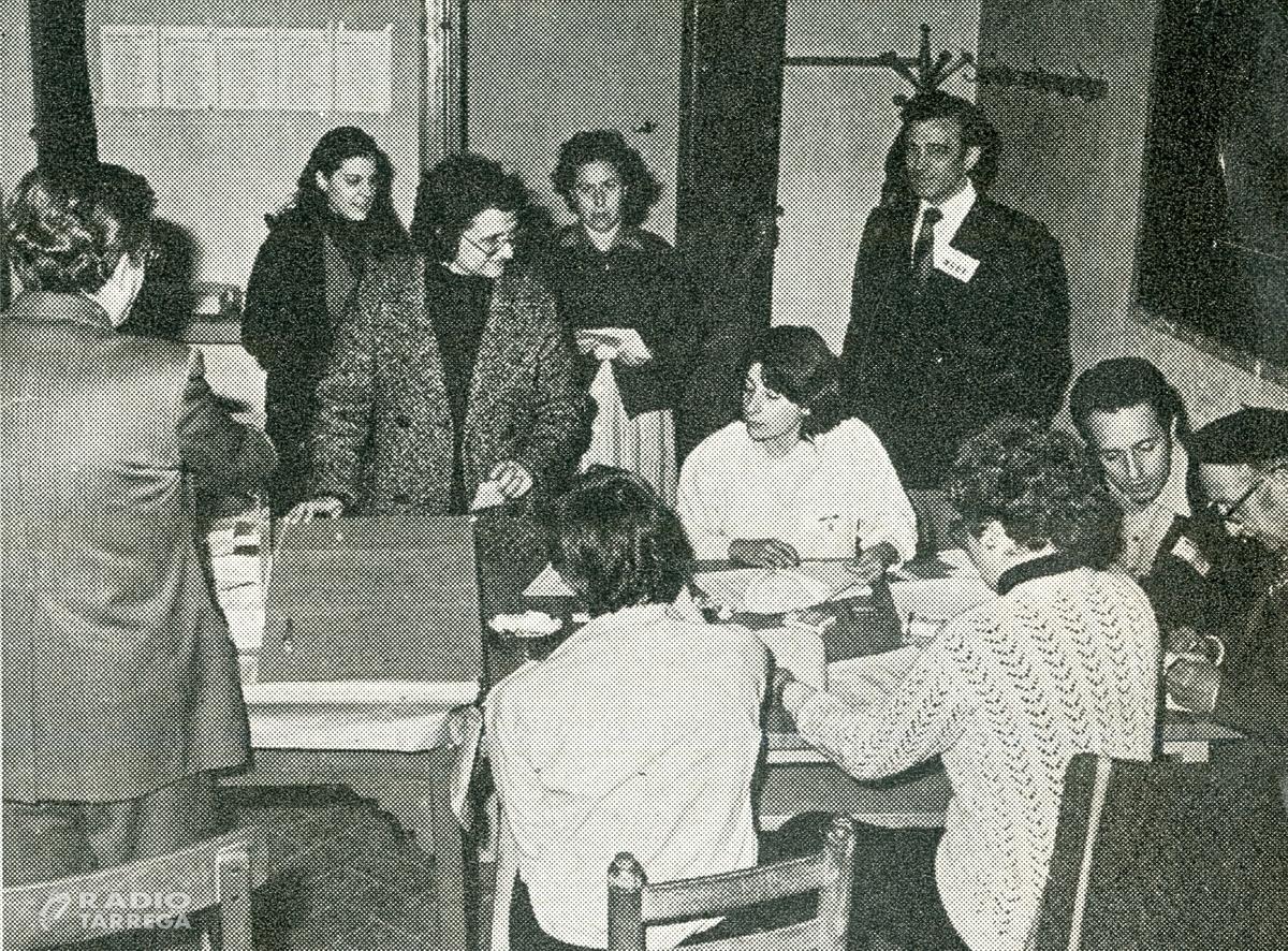 Tàrrega commemorarà 40 anys d'ajuntaments democràtics amb un llibre, un documental i un acte institucional d'homenatge