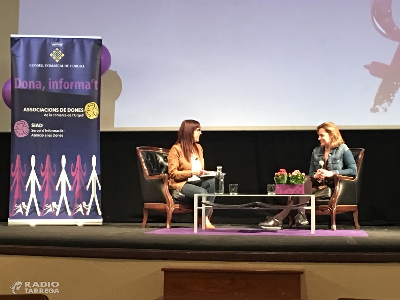 Bellpuig va acollir al teatre Armengol l'acte de Commemoració del Dia Internacional de les Dones a l'Urgell
