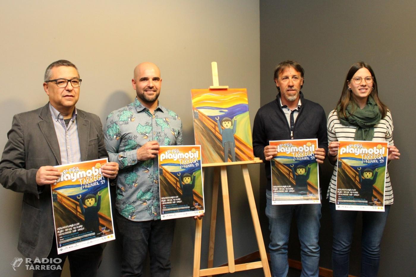 La 8a Fira Playmobil de Tàrrega tindrà el món de l'art com a eix temàtic els dies 6 i 7 d'abril
